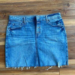 Denim Skirt Size 12